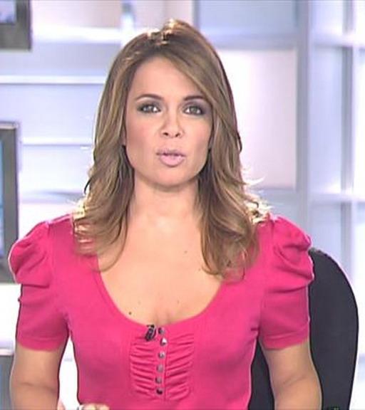 ... como una de las mejores presentadoras de informativos en la actualidad
