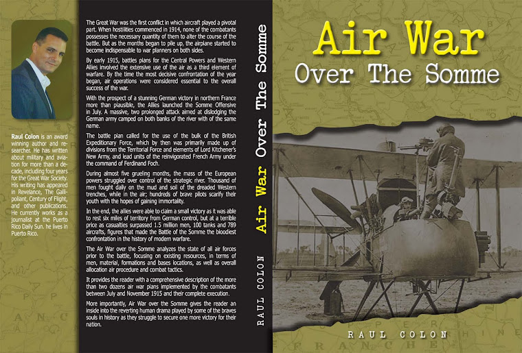 New Book: Air War Over The Somme
