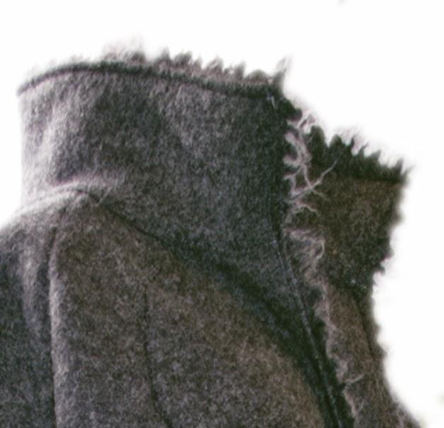 Walkmantel by sassenberg design Kragen