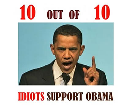 obama idiot followers