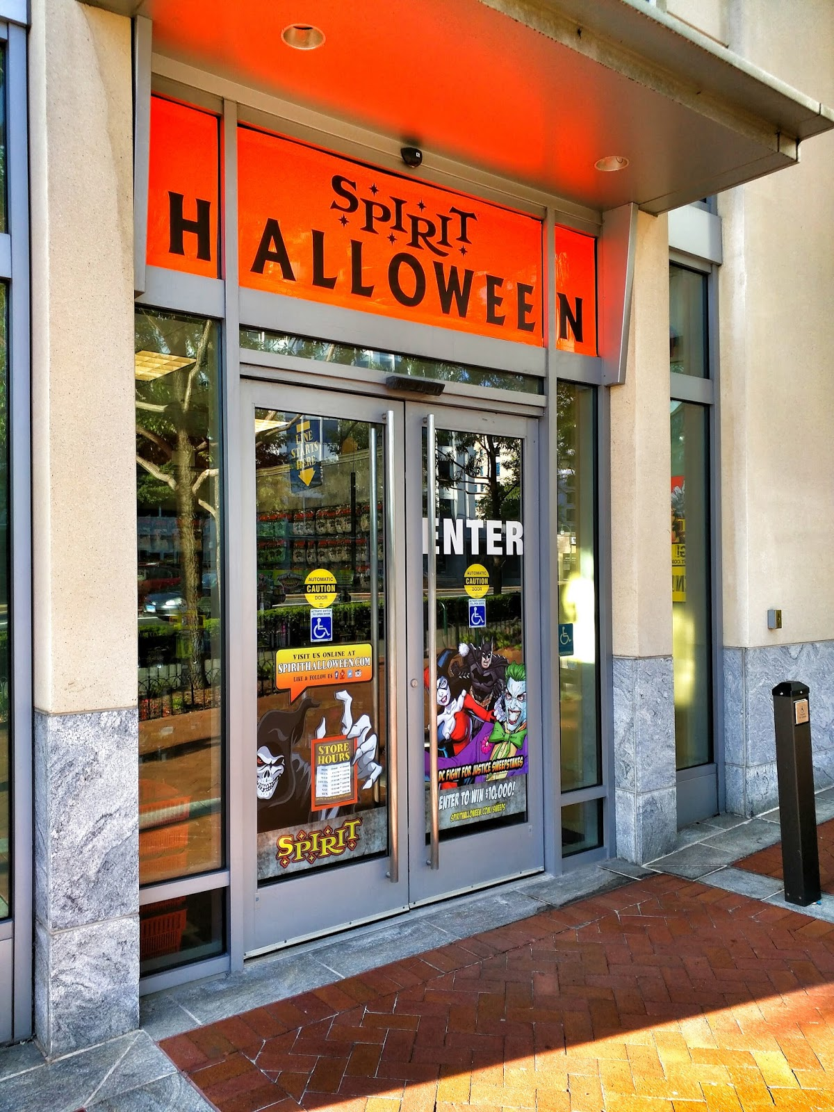 spirit halloween is now open at the corner of georgia avenue and wayne avenue in downtown silver spring the worlds biggest halloween store chain offers