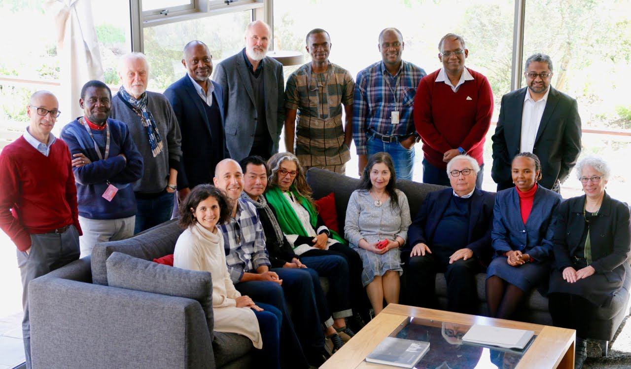 Foto del grupo de colegas-becarios, Stellenbosch Institute for Advanced Studies, Universidad de Ste