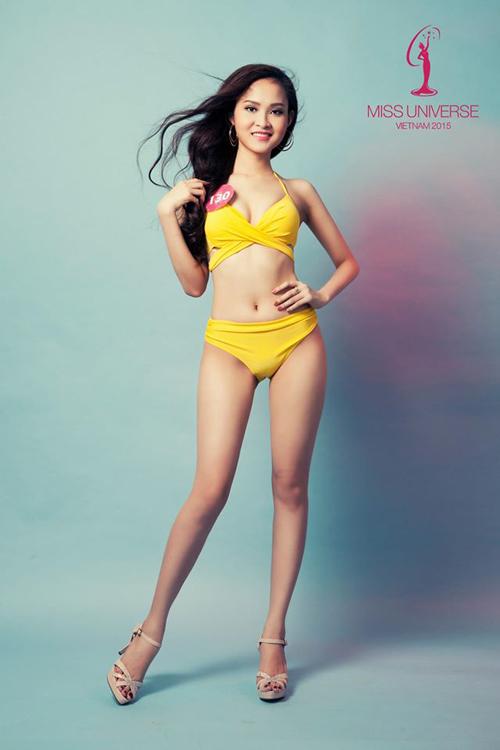 Hoa hậu Hoàn Vũ diện bikini nóng bỏng