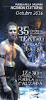 35 festival nacional de teatro VEGAS BAJAS