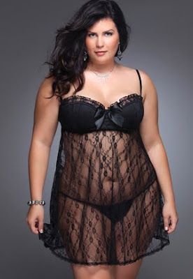 nuisette luxe grande taille
