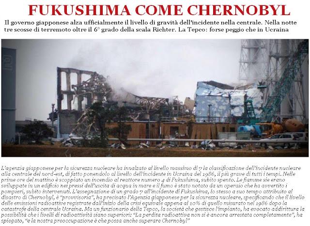 Come Chernobyl!