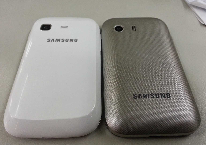 Qual é o melhor Galaxy Y ou Galaxy Pocket?