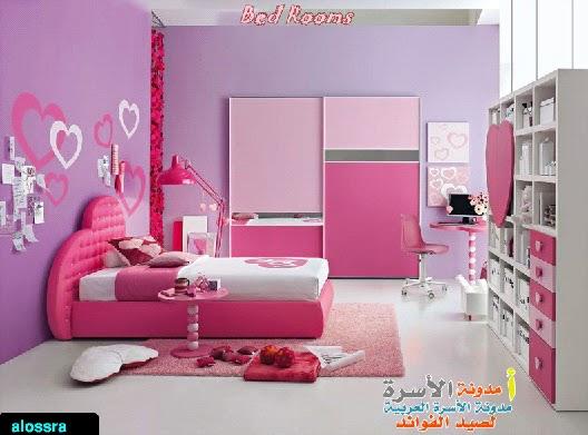 صور غرف نوم 2019 ارقى ديكورات غرف نوم ملونة جميلة جذا