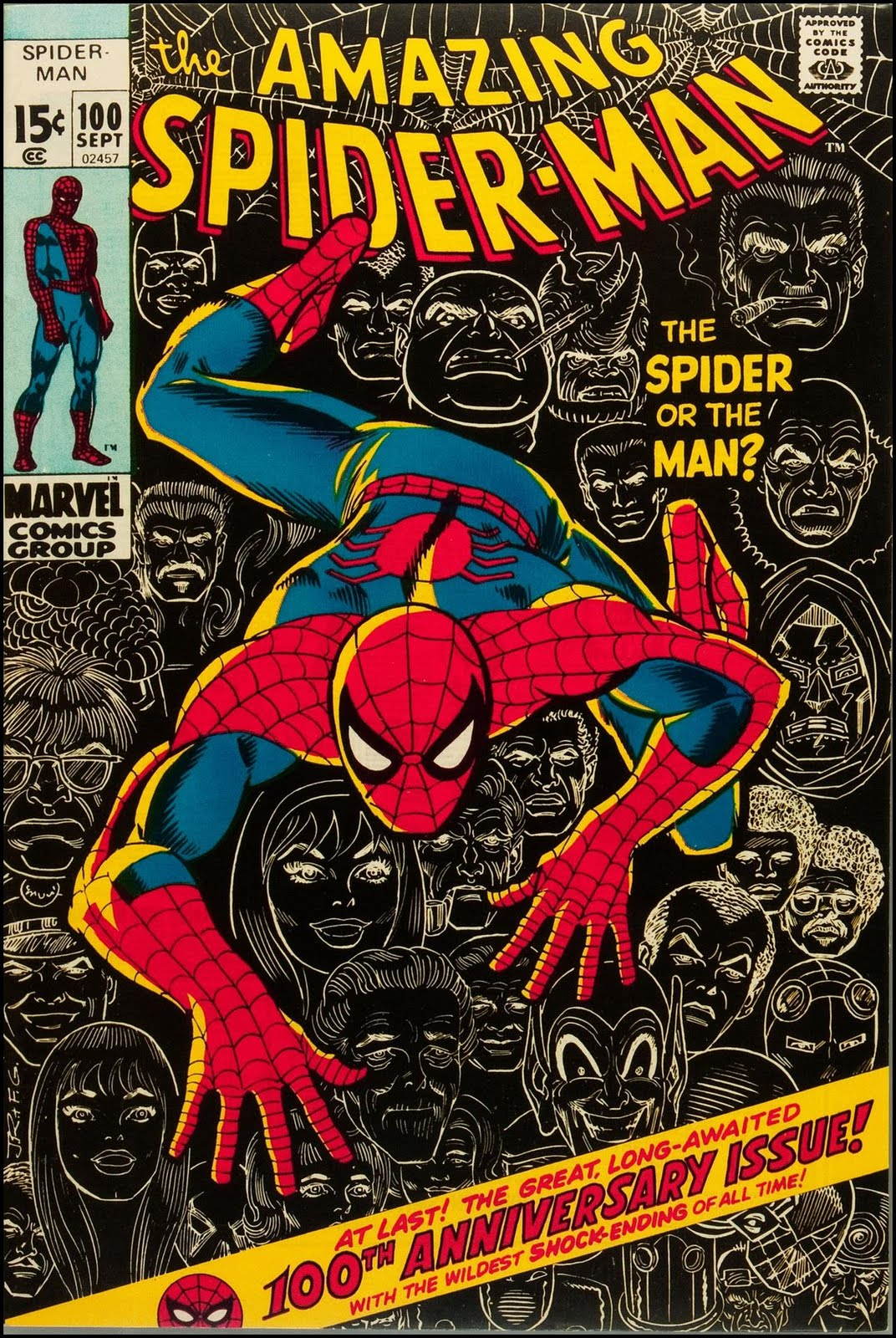 Comic Book Cover Pictures ~ Fantasy ink does whatever a spider can
