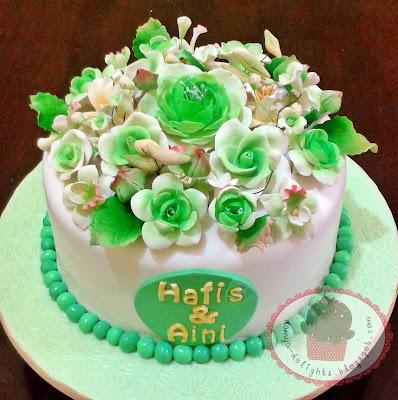 Hantaran Cake - Fondant