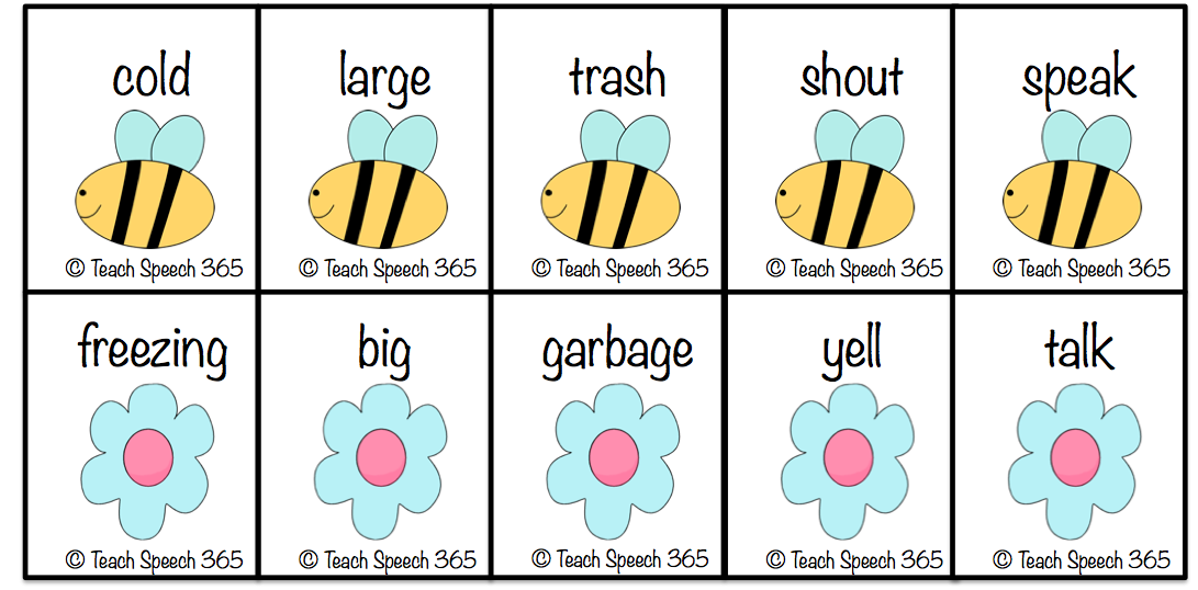 Printables Example Of Synonym simple synonyms examples scalien examples