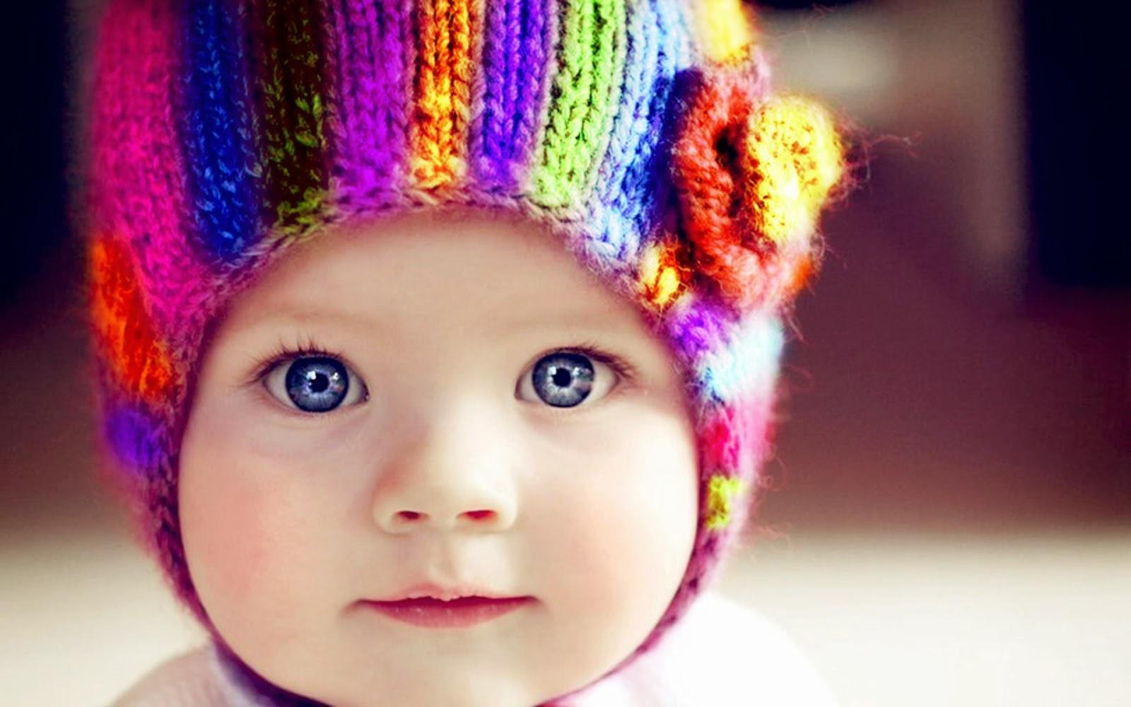 Colorfull baby eyes