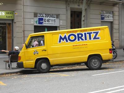 Coleccionismo cervecero furgoneta moritz - Moritz ronda sant antoni ...