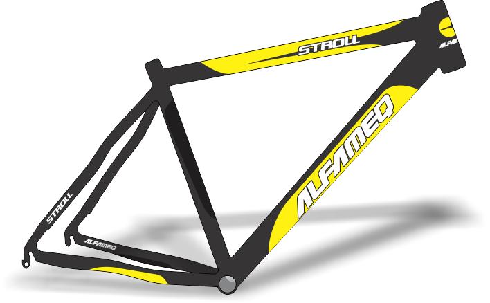 Armario Capsula Masculino ~ Stickers Design Adesivo bike Alfameq Stroll