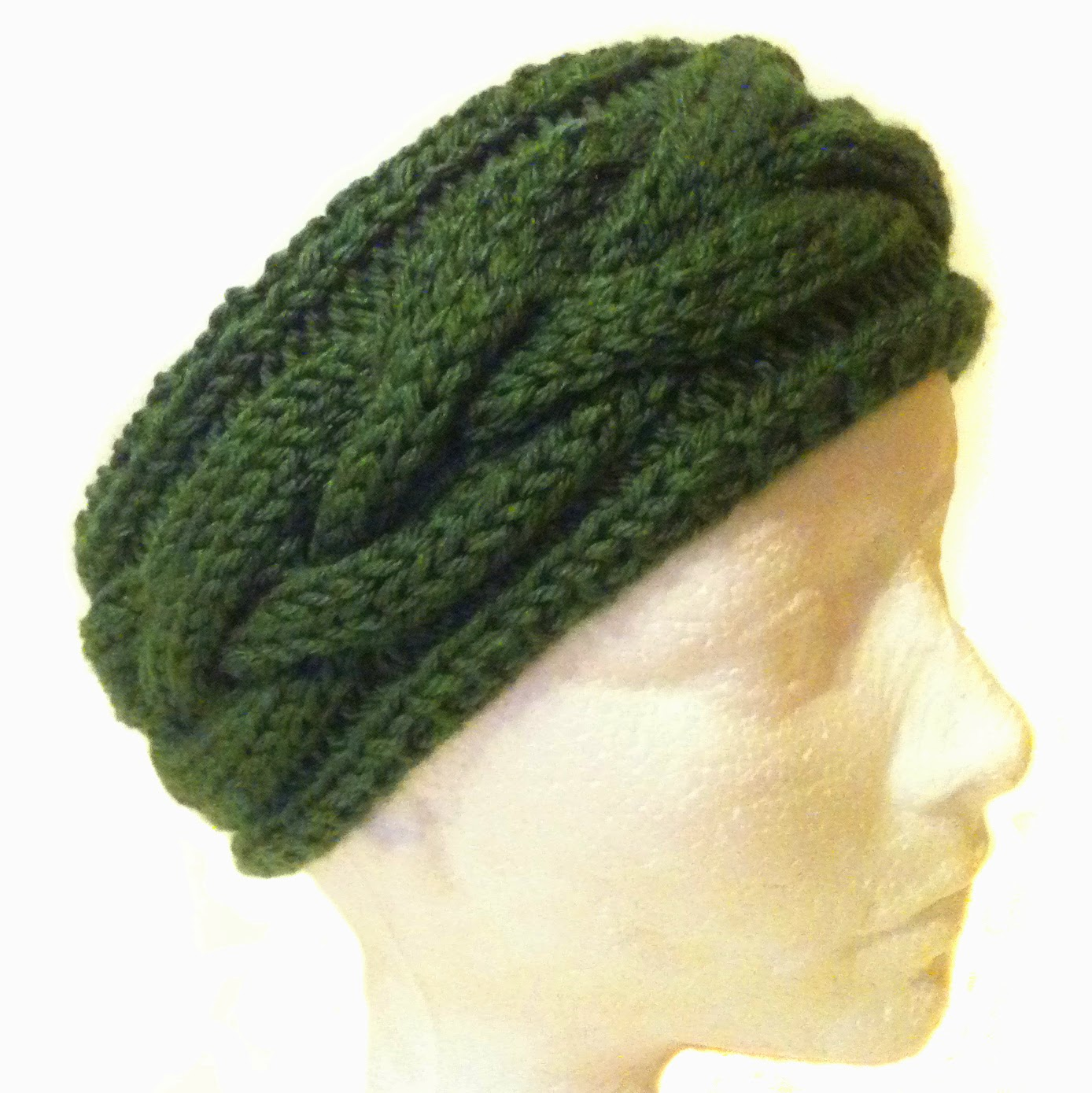 Connemara Plainted Knit Headband