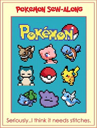 Pokemon Sew Along