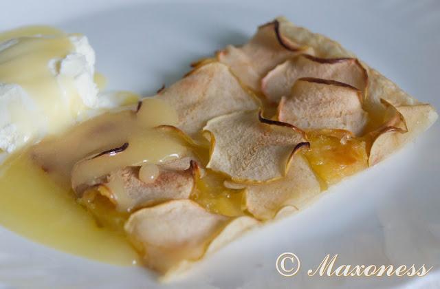 Яблочный тарт с марципаном от Джеймса Мартина