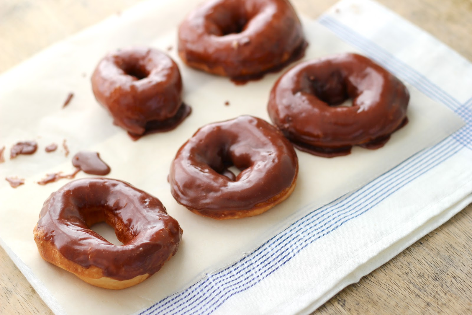 Jenny Steffens Hobick: Homemade Chocolate Glazed Donuts | Hot ...