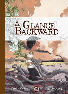 Review of the graphic novel A Glance Backward