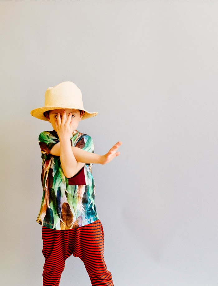 Wolf & Rita Spring-Summer 2015 kids fashion collection