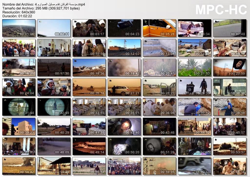 Capturas de pantalla de la película El Estruendo de las Espadas IV