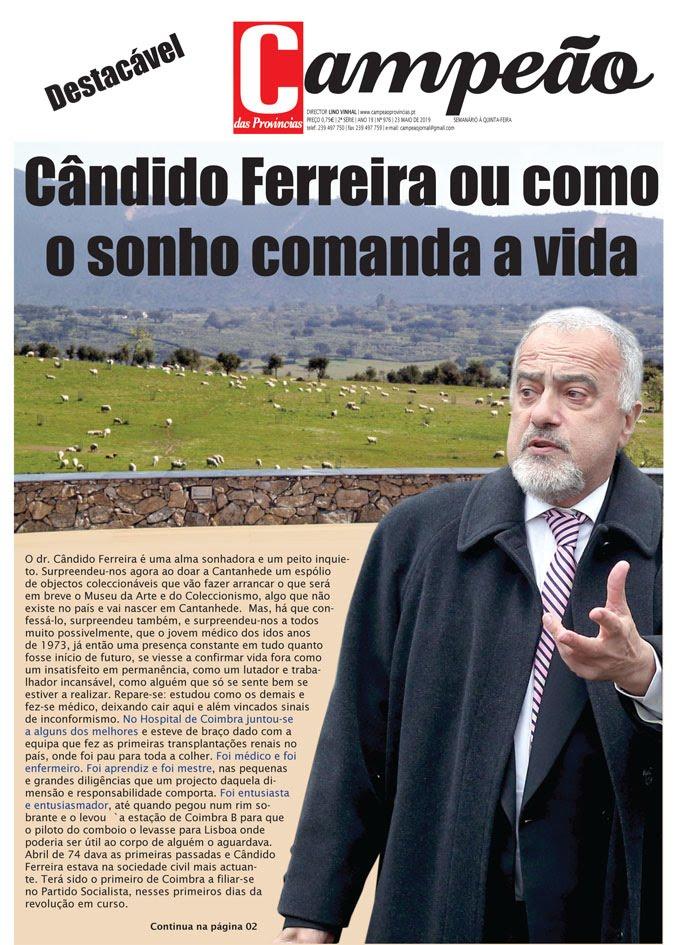 Caderno especial - Cândido Ferreira