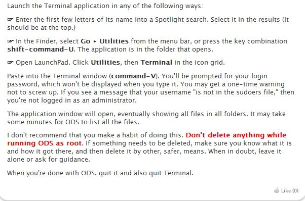 Macで「起動ディスクがほとんどいっぱいです」が出たときの対処法