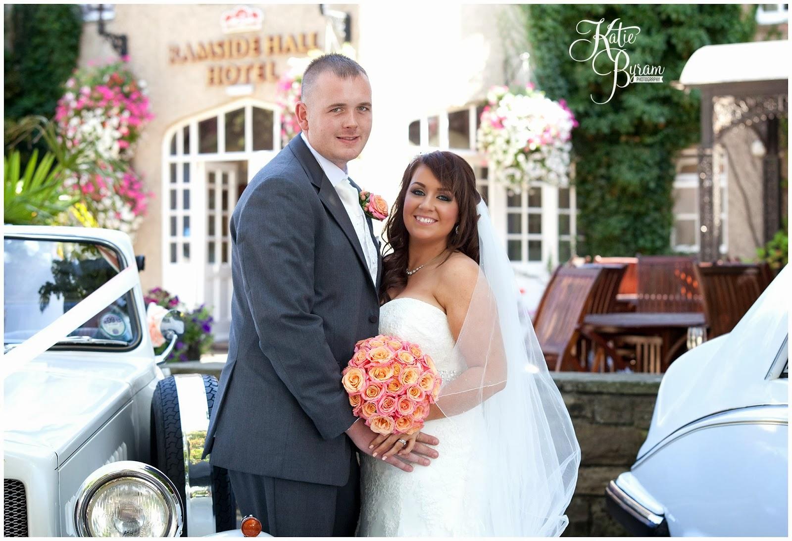 Katie byram photography fun relaxed female wedding rose wedding cars ramside hall wedding durham wedding photography coral themed wedding ombrellifo Choice Image
