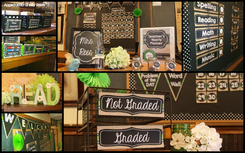 Classroom Decor S ~ Classroom decor reveal chalkboard and burlap