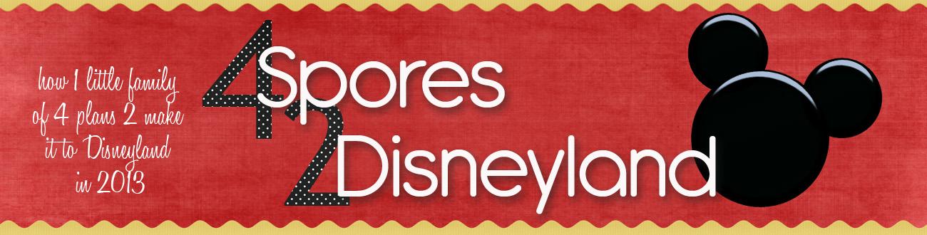 The 4 Spores 2 Disney