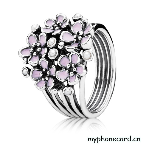 jewelry trends pandora cherry blossom rings