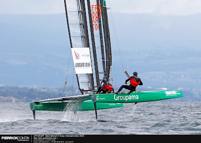 Groupama C en finale de la Little Cup 2015.