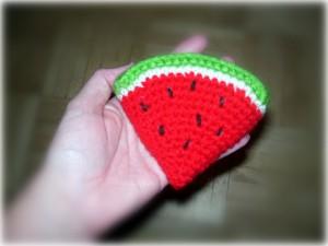 2000 Free Amigurumi Patterns: Watermelon Slice