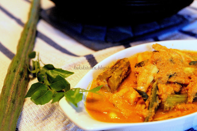 fish curry with drumsticks trivandrum style