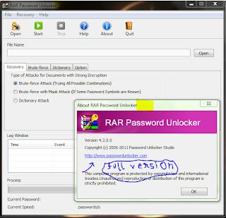 rar password unlocker v 403 serial