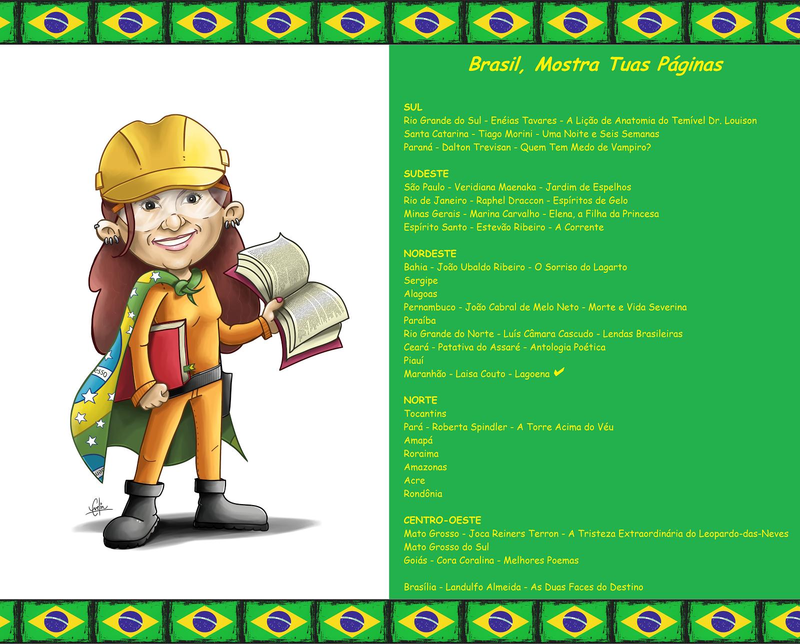 Brasil, Mostra Tuas Páginas