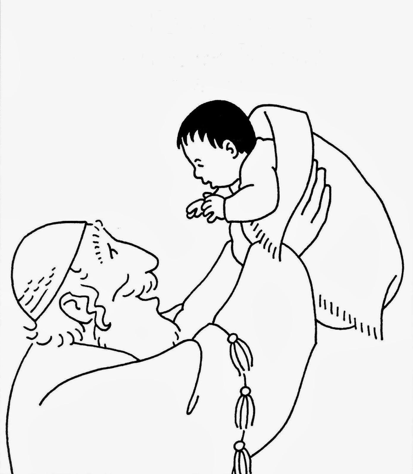 ensinanzaere: PRESENTACION DE JESÚS, DIBUJOS