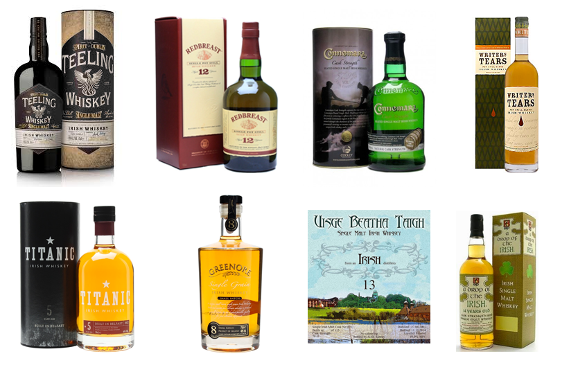 Saint Patrick's Whiskey Selection