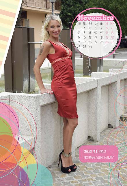 Calendario 2016 - Miss Mamma Italiana - Novembre