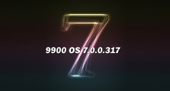 Leaked OS 7.0.0.317 for Bold 9900