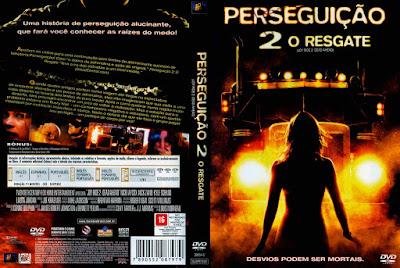 Filme Perseguição 2: O Resgate DVD Capa