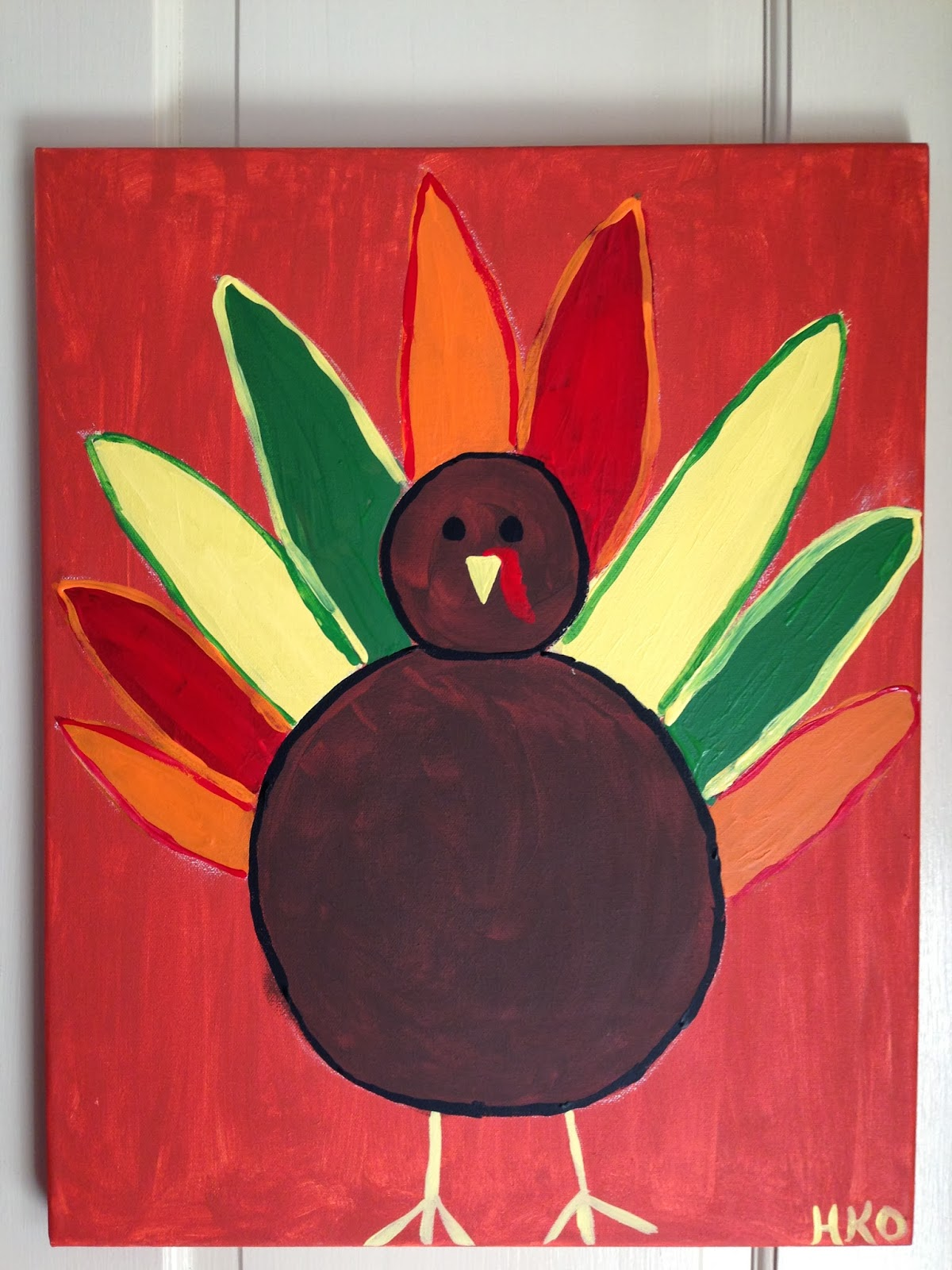 Hope Floats And More A Turkey Painting Play Date