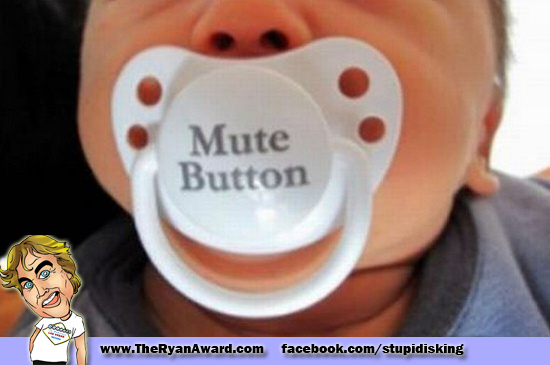 Every Baby needs a Mute button!
