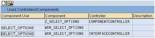 Select Options Component Usage in Web Dynpro