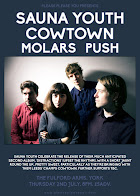 Sauna Youth, Cowtown, Molars + Push
