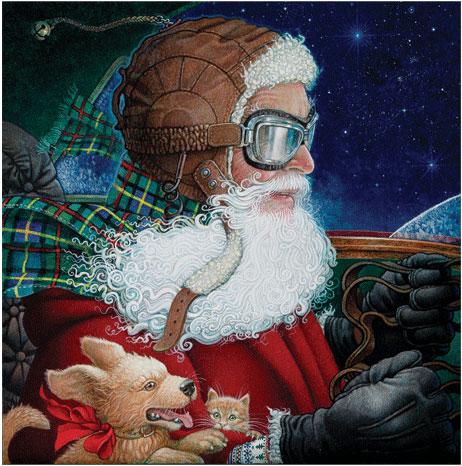 christmas story aviator kid