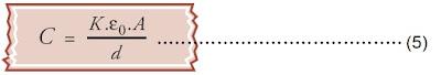 kapasitas kapasitor keping sejajar yang diberi zat dielektrik