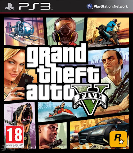 GTA V 5 Play Station 3 Español