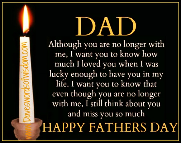 Daveswordsofwisdom.com: Remembering Dad this Fathers Day
