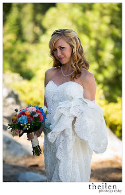 Jewel tone bridal bouquet l Kehlet Mansion l Meeks Bay Resort l Theilen Photography l Take the Cake Event Planning